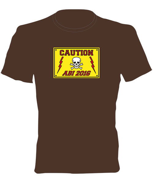 Abi T-Shirt - Motiv 48 - ABI Caution