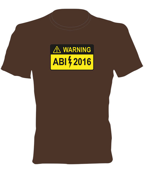 Abi T-Shirt - Motiv 57 - ABI Warning