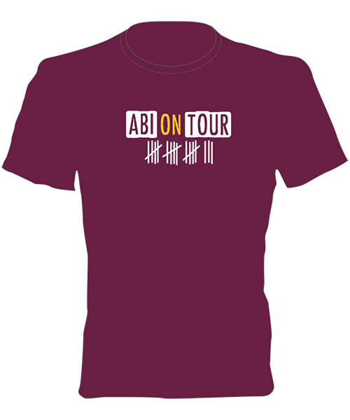 Abi T-Shirt - Motiv 59 - ABI on Tour